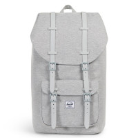 Herschel Little America Rugzak Light Grey Crosshatch/Grey Rubber
