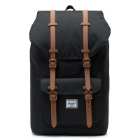 Herschel Little America Rugzak Black/Saddle Brown