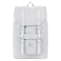 Herschel Little America Mid Volume Rugzak Light Grey Crossharch