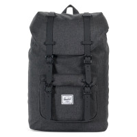 Herschel Little America Mid Volume Rugzak Black Crossharch/Black