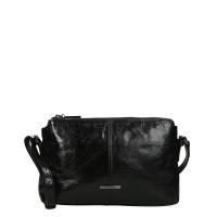 Claudio Ferrici Pelle Vecchia Crossbag Black 22050