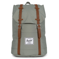 Herschel Retreat Rugzak Shadow/Tan Synthetic Leather