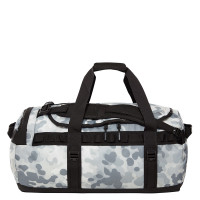 The North Face Base Camp Duffel M TNF White Macrofleck Camo Print/TNF Black