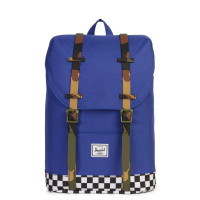 Herschel Retreat Youth Rugzak Deep Ultramarine/Checker/Woodland Camo