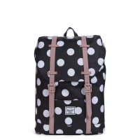 Herschel Retreat Youth Rugzak Polka Dot/Ash Rose