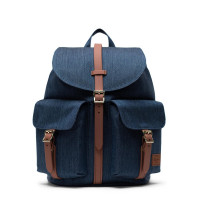 Herschel Dawson Small Rugzak Indigo Denim Crosshatch