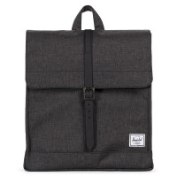 Herschel City Rugzak Mid-Volume Black Crosshatch / Black