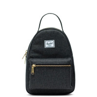 Herschel Nova Mini Rugzak Black Crosshatch