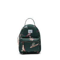 Herschel Nova Mini Rugzak Dark Green Birds