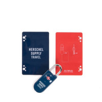 Herschel Travel Accessoires TSA CARD LOCK Navy/Red