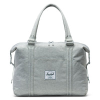 Herschel Strand Sprout Luiertas Light Grey Crosshatch New