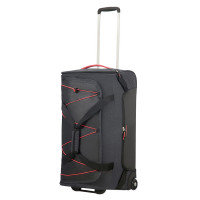 American Tourister Road Quest Duffle Wheels 67 Graphite/ Pink