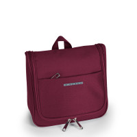 Gabol Zambia Cosmetic Toiletry Bag Burgundy