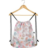 The Pack Society The Gymsack Rugzak Off White Petals