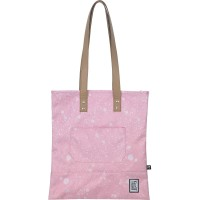 The Pack Society The Shopper Schoudertas Coral Spatters Allover
