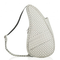 The Healthy Back Bag The Classic Collection Textured Nylon S Seashell Grey