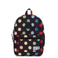 Herschel Heritage Youth Rugzak Black Rainbow