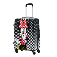 American Tourister Disney Legends Spinner 65 Alfatwist Minnie Mouse Polka Dot