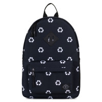 Parkland Bayside Kids Backpack Recycle Black