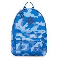 Parkland Bayside Kids Backpack Woodland Camo Blue