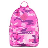 Parkland Bayside Kids Backpack Woodland Camo Pink