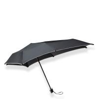 Senz Senz Mini Foldable Storm Paraplu Black Reflective