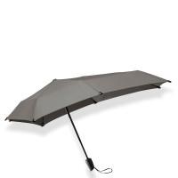 Senz Mini Automatic Foldable Paraplu Silk Grey