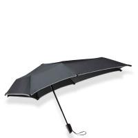 Senz Mini Automatic Foldable Paraplu Black Reflective