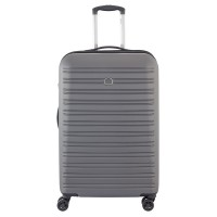 Delsey Segur Trolley Case 4 Wheel 70 Grey
