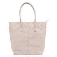 Zebra Trends Natural Bag Kartel Rits Vintage Light Grey 208804