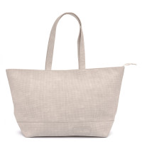 Zebra Trends Natural Bag XXL Rits Vintage Light Grey 208806