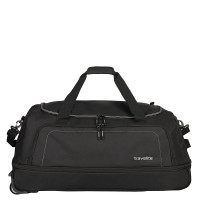Travelite Basics Wheelbag Reistas Foldable In Bag Black/Silver