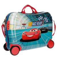 Disney Rolling Suitcase 4 Wheels Cars Race