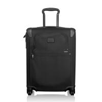 Tumi Alpha 2 Travel International Slim 4-Wheel Carry On 55 Black