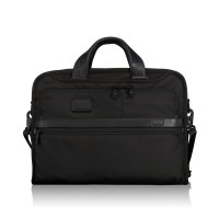 Tumi Alpha 2 Business Organizer Portfolio Brief Black