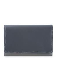 Mywalit Medium Tri-Fold Wallet Outer Zip Portemonnee Storm