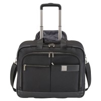 Titan Power Pack Laptoptrolley 2 Wheel Black