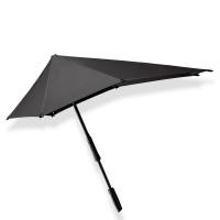 Senz Original Large Stick Paraplu Pure Black