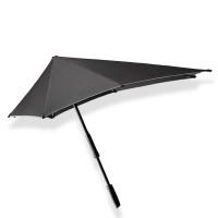 Senz Original Large Stick Paraplu Black Reflective