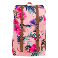 Herschel Little America Mid Volume Rugzak Peach Pineapple