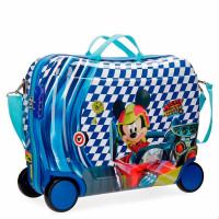Disney Rolling Suitcase 4 Wheels Mickey Race