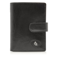 Castelijn & Beerens Gaucho Dames Portemonnee Rits RFID Black