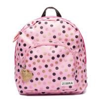 Zebra Trends Kinder Rugzak Wild Dots Glitter Pink