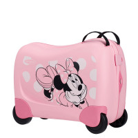 Samsonite Dream Rider Disney Suitcase Minnie Glitter