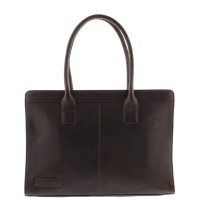 "Plevier Business/Laptoptas 1-Vaks 15.6"" Dark Brown 478"
