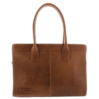 "Plevier Business/Laptoptas 1-Vaks 15.6"" Cognac 478"