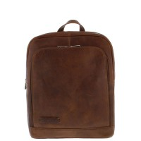 "Plevier Business/Laptoprugtas 1-Vaks 14"" Cognac 484"