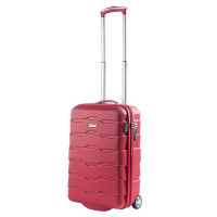 CarryOn Transfer Handbagage 2 Wheel Trolley 55 Red