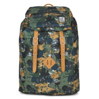 The Pack Society The Premium Rugzak Green Camo Allover