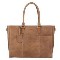 Burkely Hunt Hailey Workbag Schoudertas Taupe 538729